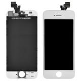 Iphone 5C LCD Skjerm Front Hvit