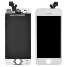 Iphone 5 LCD Skjerm Front Hvit