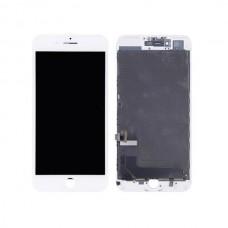 Iphone 8 Plus LCD Skjerm Front Hvit OEM