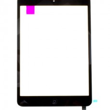 iPad Mini 1/2 Sort Front Glass m/digitizer